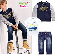 Костюмчик джинсовий - олімпійка+футболка+джинси