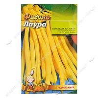 Семена фасоль спаржевая кустовая евро пакет Лаура 40гр