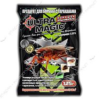 'Ультра Магик' порошок в пакете, приманка для борьбы с насекомыми-вредителями 125г