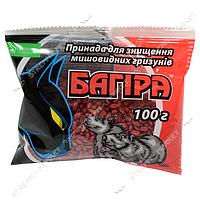 'Багира' Зерновая приманка против грызунов 100гр. ('Аптека садовника'Украина)(в уп. 100 шт.)