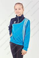 Красивая спортивная кофта для девочки-подростка