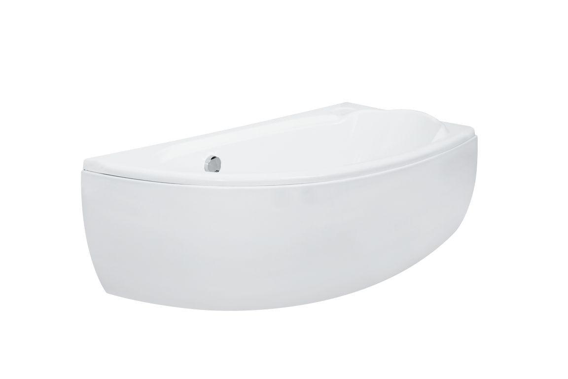 Ванна Mini 150х70 правая Besco PMD Piramida акриловая асимметричная
