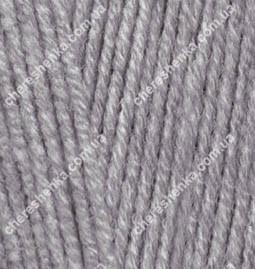 Нитки Alize Cotton Gold 87 угольный серый