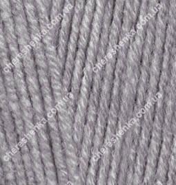 Нитки Alize Cotton Gold 87 угольный серый, фото 2