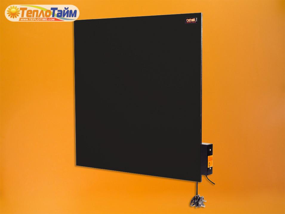 Керамічна панель DIMOL Standart 03 з терморегулятором (графітовий) 370 Вт, (керамическая панель)