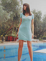 Платье бирюзового цвета, фото 1