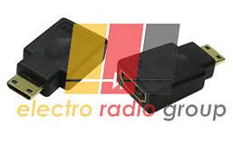 Переходник mini HDMI(папа)-HDMI(мама) NEW