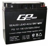 Аккумулятор AGM - 18 Ач, 12V гелевый TopPower (Great Power) PG 12-18