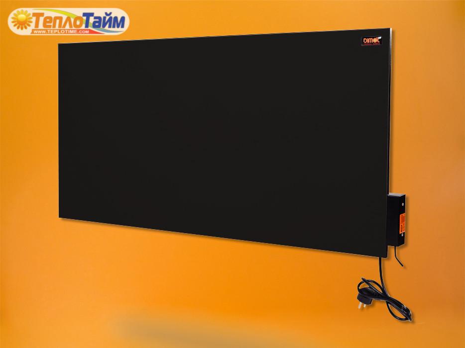 Керамічна панель DIMOL Maxi 05 з терморегулятором (графітовий) 500 Вт, (керамическая панель)
