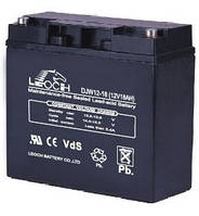 Аккумулятор AGM - 18 Ач, 12V гелевый Leoch DJW 12-18