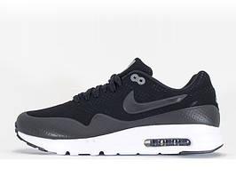 Женские кроссовки Nike Air Max 1 Ultra Moire Black Grey
