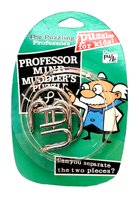 """Головоломка металлическая """"Professor"""""""