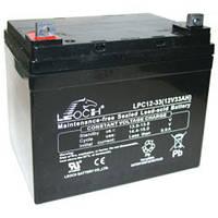 Аккумулятор AGM - 33 Ач, 12V гелевый Leoch DJW 12-33