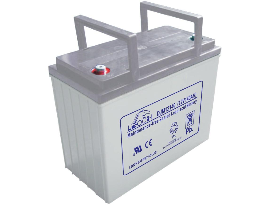 Аккумулятор AGM - 55 Ач, 12В гелевый Leoch DJM 1255 (2015г.в.)