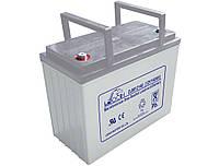Аккумулятор AGM - 55 Ач, 12V гелевый Leoch DJM 1255 (2015г.в.)