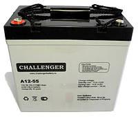 Аккумулятор AGM - 55 Ач, 12V гелевый Challenger A12-55