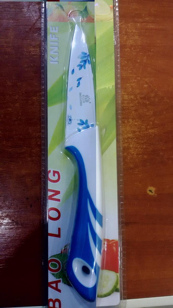 Нож  bao long голубой