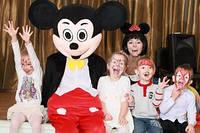 Микки Маус и Минни Маус на детский праздник в Одессе