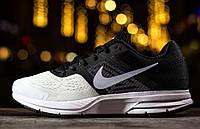 Nike Air Pegasus +30  Black, White & Reflect Silver