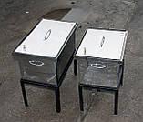 Подставка для коптильни с гидрозатвором большая, фото 4