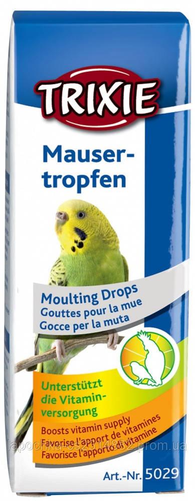 Капли Trixie Moulting Drops для птиц при линьке, 15мл