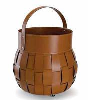 Сумка для дров Ovo коричневая