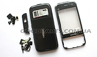 Корпус для Nokia N85 (полный комплект) черный high copy