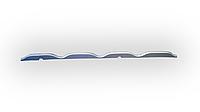 Уплотнитель для металлочерепицы «Крон» под конек+карниз