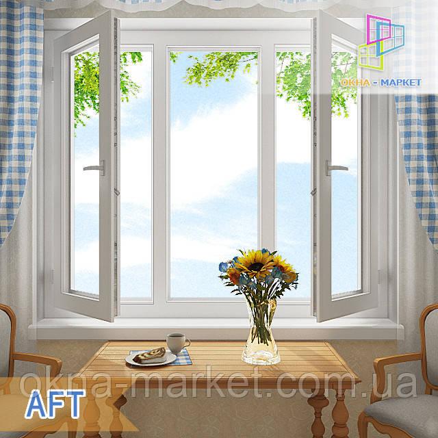 Дешевые трехстворчатые окна LIDER компания