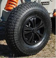 Надувное колесо (Комплект 4 шт) для детского электромобиля d=33 см с провтулками
