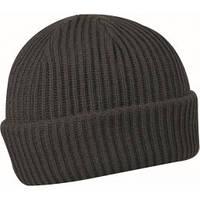 Вязаная шапка из акрила CoFEE, тёмно-синяя, серая, чёрная