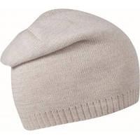 Вязаная шапка  удлинённая из шерсти, цвета в ассортименте