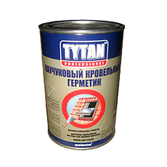 Tytan Каучуковый Кровельный Герметик 1 кг, черный