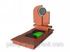 Пам'ятники з граніту від виробника Житомир (Зразок №180)