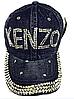 Бейсболка женская  джинсовая KENZO