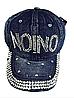 Бейсболка женская  джинсовая NOINO
