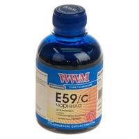 Чернила WWM для Epson Stylus Pro 7700/9700/9890 200г Cyan Водорастворимые (E59/C) с повышенной светостойкостью