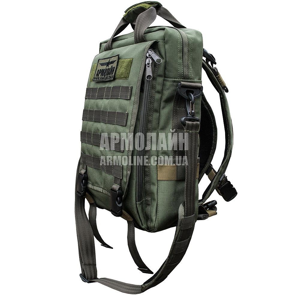 Сумка-рюкзак тактические школьный рюкзак 4you compact flash смайлы