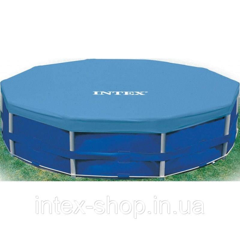 Тент защитный для каркасного бассейна диаметром 457 Intex 28032