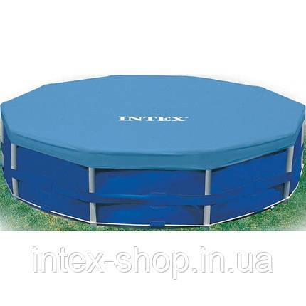 Тент защитный для каркасного бассейна диаметром 457 Intex 28032, фото 2