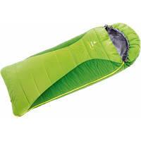Спальний мішок Deuter Dreamland kiwi-emerald левый (37033 2206 1) кокон, 0/+8/+26, 160 х 70 х 70 см,
