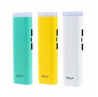 Внешний аккумулятор Golf 7800 mah для телефона и планшета