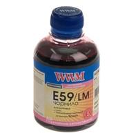 Чернила WWM для Epson Stylus Pro 7890/9890 200г Light Magenta Водорастворимые (E59/LM) с повышенной светостойк