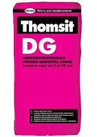 Самовыравнивающаяся гипсово-цементная смесь, 3-30 мм Thomsit DG, 25 кг