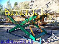 Подъемный стол AUSBAU- SL (гидравлический ножничный подъемник)