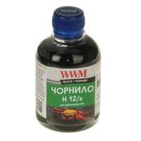 Чернила WWM для HP №10/11/12 200г Black Водорастворимые (H12/B)
