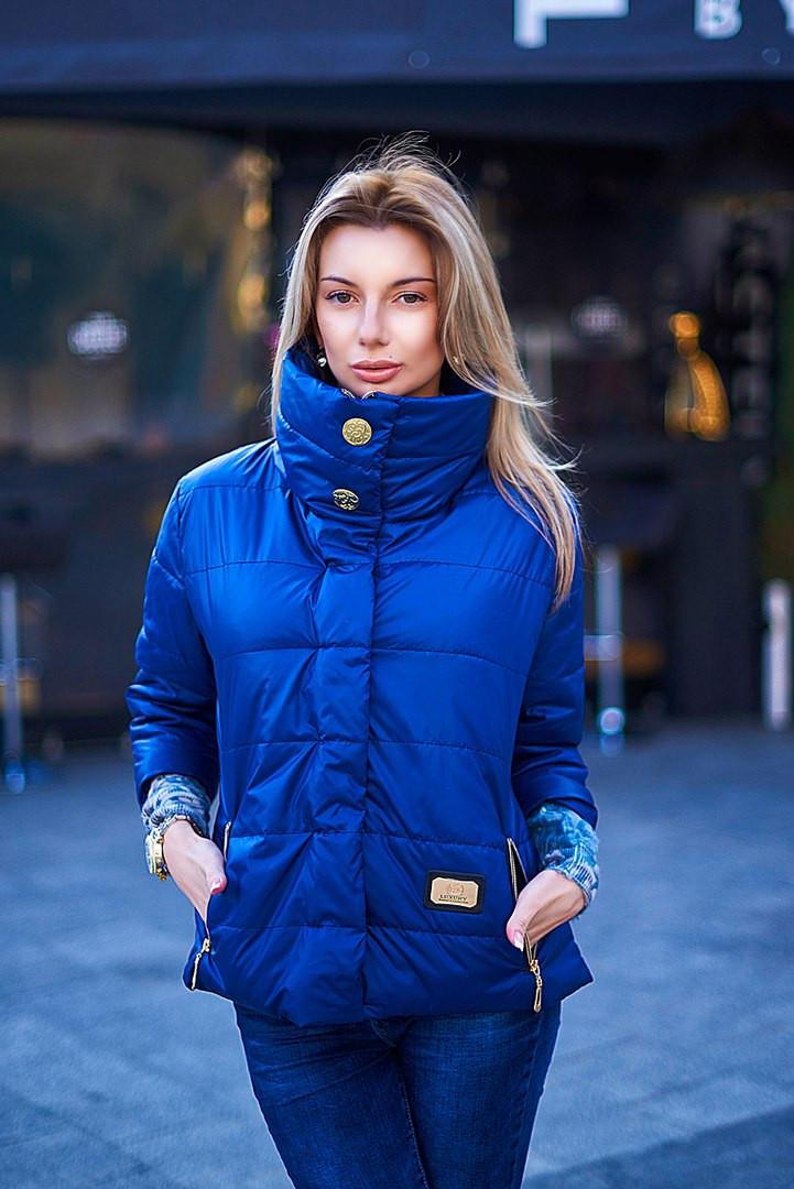 811e8883bc4f Куртка весенняя короткий рукав ВИВ 7075 - Секрет женская одежда оптом в  Одессе