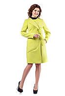 Женское демисезонное пальто в 7ми цветах В - 937 Кашемир