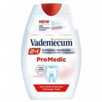 Зубная паста Vademecum Pro Medic 2in1 зубная паста и антибактериальный ополаскиватель 75 мл