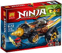 "Конструктор Lele Ninja (аналог Lego Ninjago) 79116 ""Земляной бур Коула"",  171 дет , фото 1"